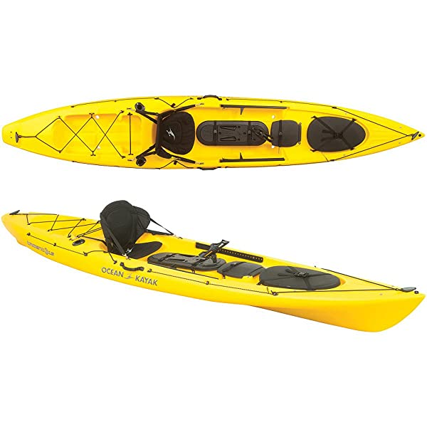 Ocean kayak trident 13 angler kayak review tackle box nation for Best fishing kayak for the money