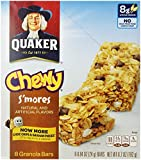Quaker S'Mores Granola Bars, 8 Count