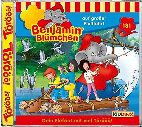 Benjamin Blücchen (131) Benjamin Blümchen auf großer Floßfahrt - Kiddinx 2016