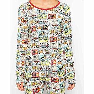 (キャスキッドソン) Cath Kidston レディース トップス Tシャツ Cath Kidston Cops And Robbers Long Sleeve Nightwear Top 並行輸入品
