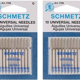 Euro-Notions Universal Machine Needles, 10-Pack (2 pack)
