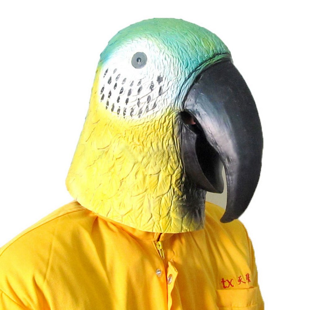 Animal Caps Partying Funny Mask-Cosplay--Parrot