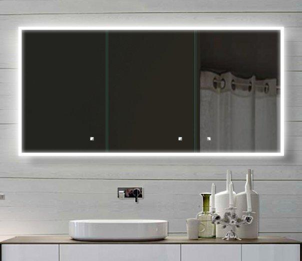 Ein günstiger Spiegelschrank hat auch Technik und Features inne. Nur für die Neusten muss man extra zahlen.