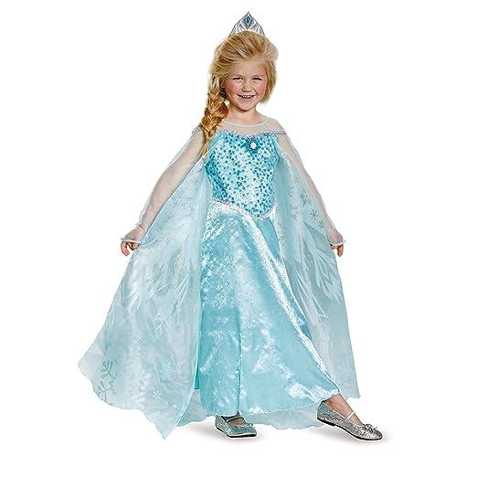 Disguise Elsa Prestige Child Costume, Small (4-6x)