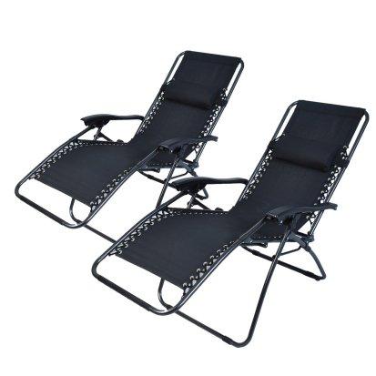Great 4 doubles of zero gravity chairs - Polar aurora