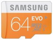 Samsung 64GB Evo Class 10 Micro SD card