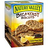 (2 Pack) Nature Valley Breakfast Biscuits Lemon Poppy Seed 5- 1.770z Pouches