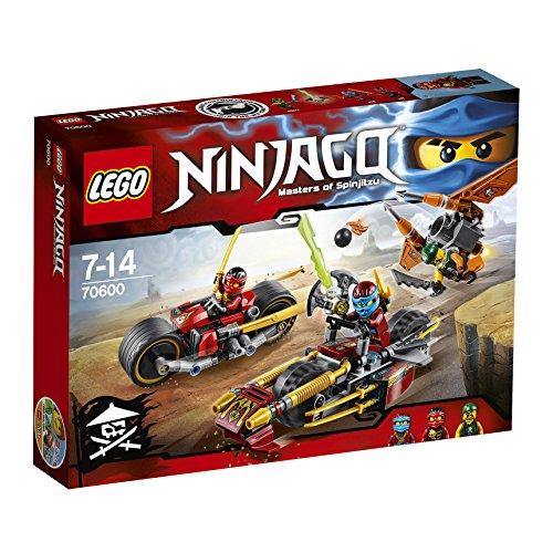 Lego Ninjago 70600 – Inseguimento Sulla Moto dei Ninja