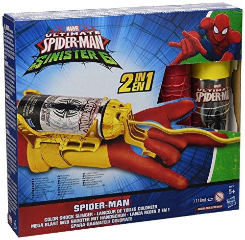 Hasbro – B5752E27 Ultimate Spider Man Guanto Spara-ragnatele (Colori Assortiti)