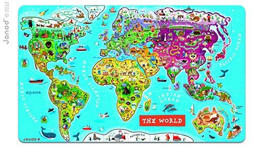 JANOD パズルワールドマップ