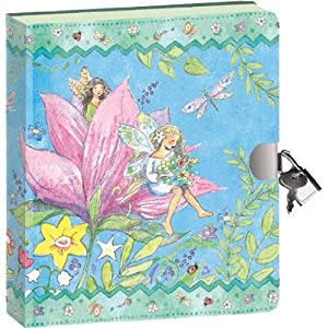 Fairy World Lock & Key Diary