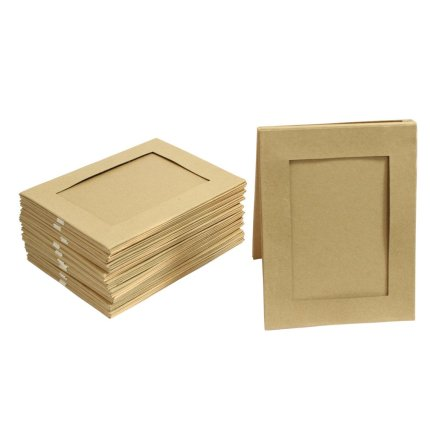 Craft Time Review Set Of 10 6 X 4 Double Sided Plain Cardboard
