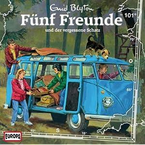 Fünf Freunde (101) und der Vergessene Schatz (Europa)
