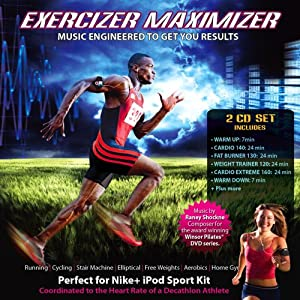 Exercizer Maximizer Vol. 1 & 2: Workout Music Engineered To Get You Results