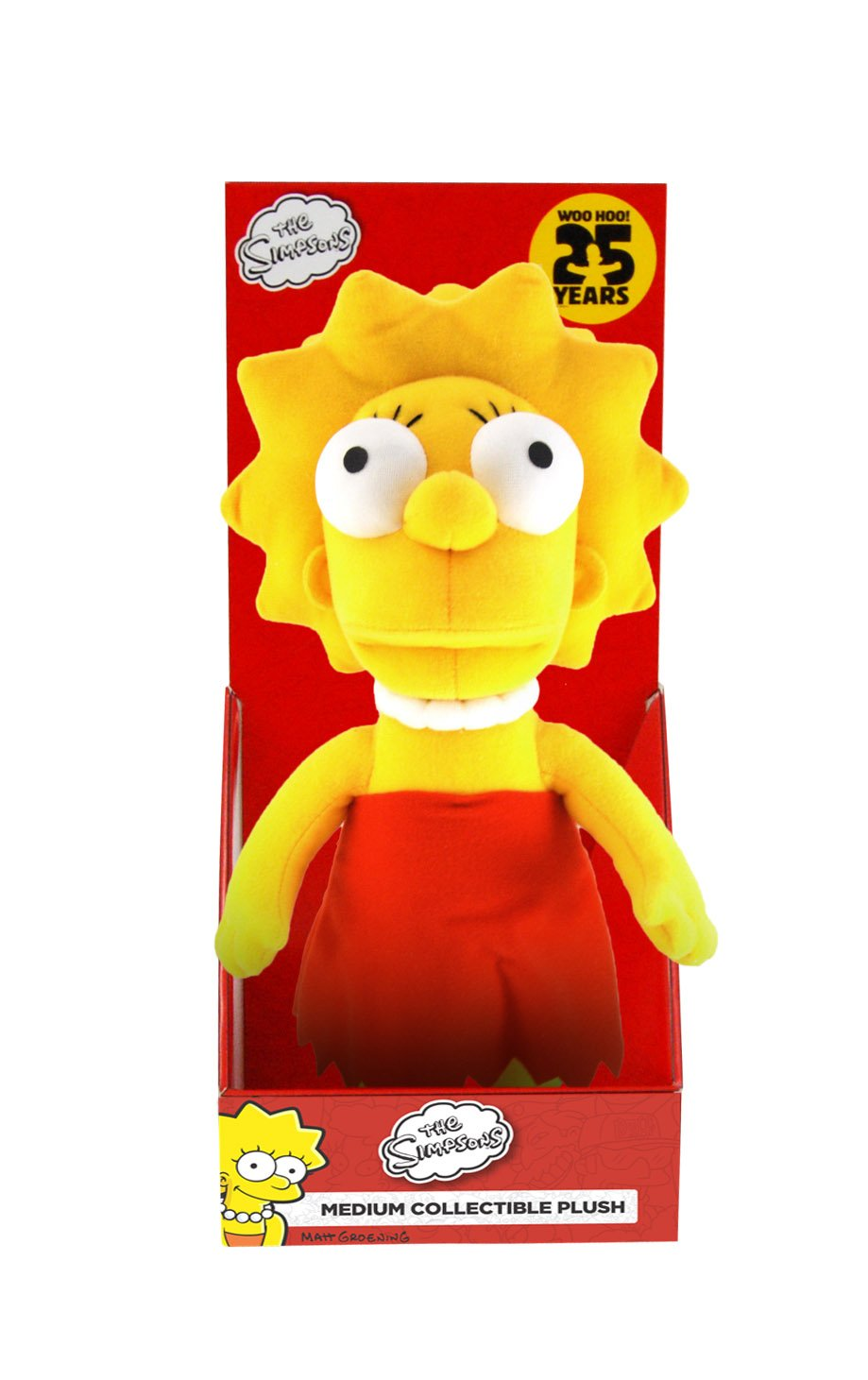 The Simpsons Medium Lisa Plush