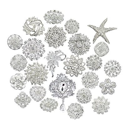 Danbihuabi-bridal-and-wedding-Lot-25pc-brooch-button-bouquet-kit