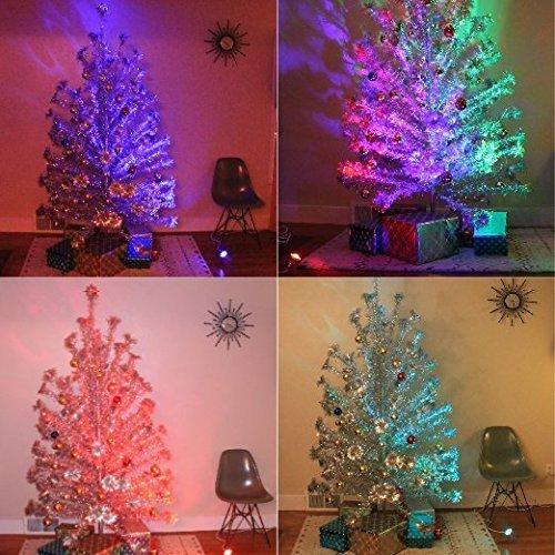 Color Wheel Aluminum Xmas Tree