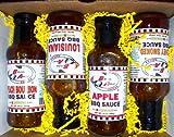 BBQ SAUCE 4-PACK GIFT SET (BBQ Sauce 4-Pack Gift Box)