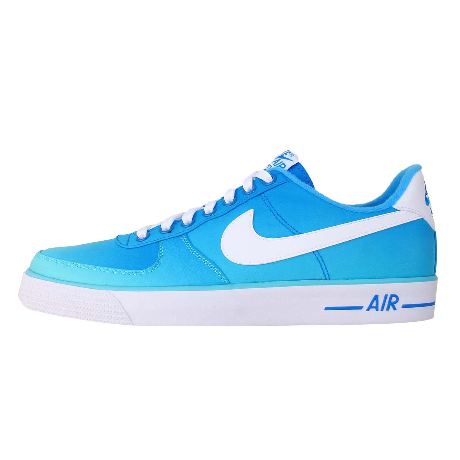 Nike Men's Air Force 1 AC br Basketball Shoes-Polarized Blue/White