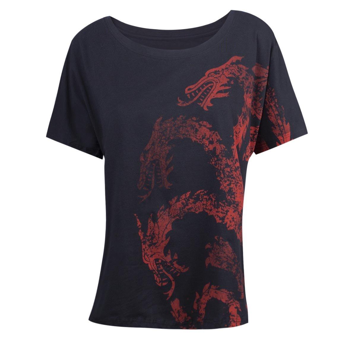 Game of Thrones Women's Targaryen Dolman Loose Fit T-Shirt