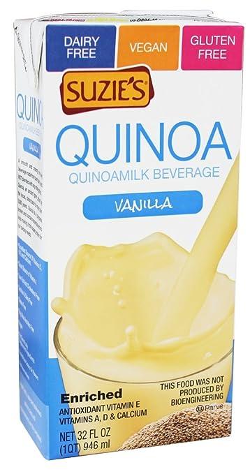 Suzie's Quinoa Milk - Vanilla - 32 oz