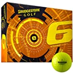 Bridgestone 2015 E6 White Golf Balls 12-Ball Pack