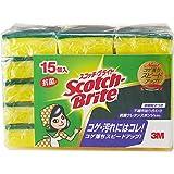 スコッチブライト キッチンスポンジ 抗菌 15個 S-21KS 15PC