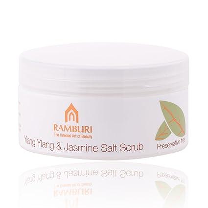 *New* Ramburi (Thailand) Ylang Ylang & Jasmine Salt Scrub 250ml (8.45oz)