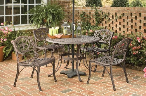 outdoor patio dining sets clearance Patio Sets Clearance: Home Styles 5555-308 Biscayne 5