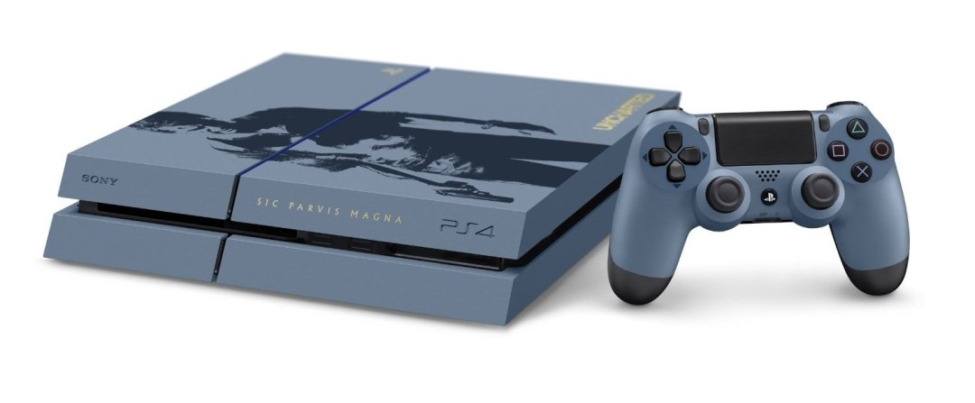 Uncharted 4: A Thief's End Limited Edition PS4 Bundle Revealed 2