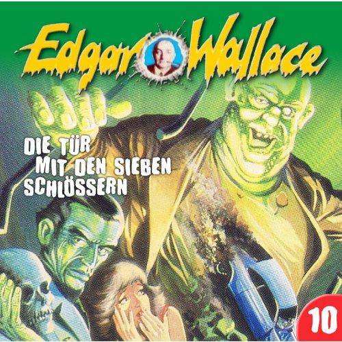 Edgar Wallace (10) Die Tür mit den sieben Schlössern - Maritim 198? / 2016