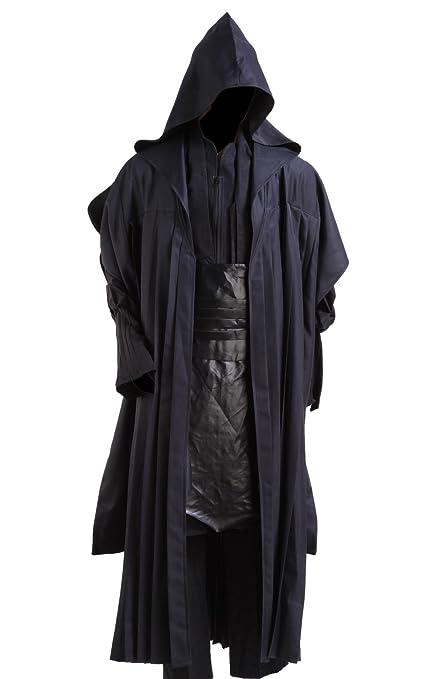 Star Wars Darth Maul Adult Costume Black Version,Men-Small