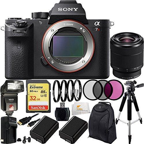 Sony Alpha a7R Mark II a7R II Mirrorless Camera Accessory Kit