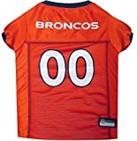 Pets First Denver Broncos Mesh Jersey, XX-Large
