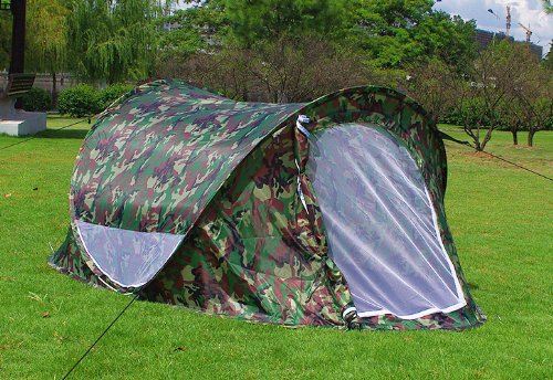 Camouflage Camping Hiking Backpacking Speedy Pop Up Tent