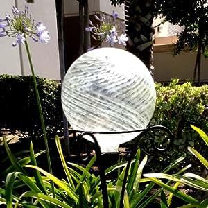 Amazon.com : Clear 10 Inch Gazing Ball for Garden ... on Backyard Decorations Amazon id=47784