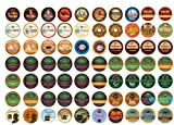 Crazy Cups Coffee Only Gift Sampler, Single-cup coffee pack sampler for Keurig K-Cup Brewers, 70-Count