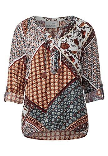 CECIL Damen Bluse im Patchworkprint