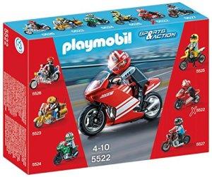 Playmobil-Coleccionables-Playset-Superbike-5522