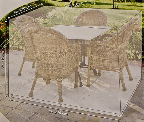 Gartenmöbelhülle Gartenmöbelabdeckung Terrassenmöbelabdeckung SCHUTZHÜLLE ABDECKUNG PLANE SITZGRUPPE