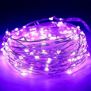 100-luci-luminose-eccellenti-del-LED-sul-33-piedi-di-lunghezza-ultra-sottile-filo-di-rame-con-4-pollici-Distanza-fra-i-bulbi-a-LED-e-20-pollici-trasparente-cavo-tra-il-filo-e-il-Battery-Box