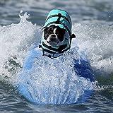 Pet Lifte Preserver - All Sizes - Dog Life Vest Jacket Doggy Life Jacket Sky Blue Medium