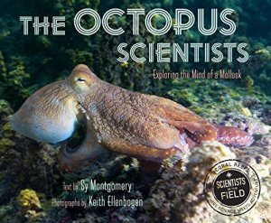 The Octopus Scientists (Scientists in the Field Series) by Sy Montgomery | Featured Book of the Day | wearewordnerds.com