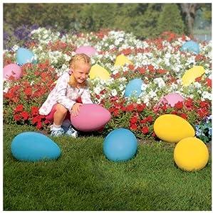 Amazon.com : Giant Weatherproof Plastic Egg Easter ... on Backyard Decorations Amazon id=11438