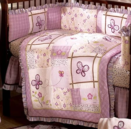 Butterfly Crib Bedding Tktb