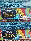 2 boxes of 20 bags Trader Joes Organic Fairtrade Rooibos & Honeybush Tea