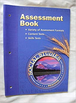 Regions By Scott Foresman Grade 4 Assessment Book