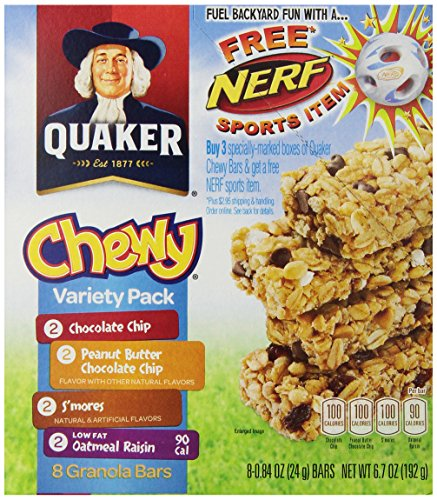 Quaker Chewy Variety Pack 67 oz 030000311882