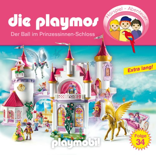 Die Playmos (34) Prinzessinnen-Schloss (Lübbe Audio)