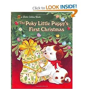 The Poky Little Puppy's First Christmas (Little Golden Book)